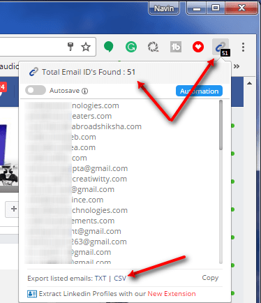 How To Extract Email Addresses From Facebook