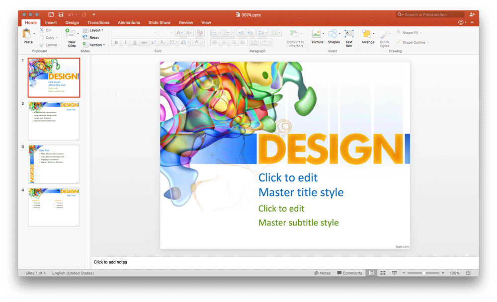 free-design-ppt-template