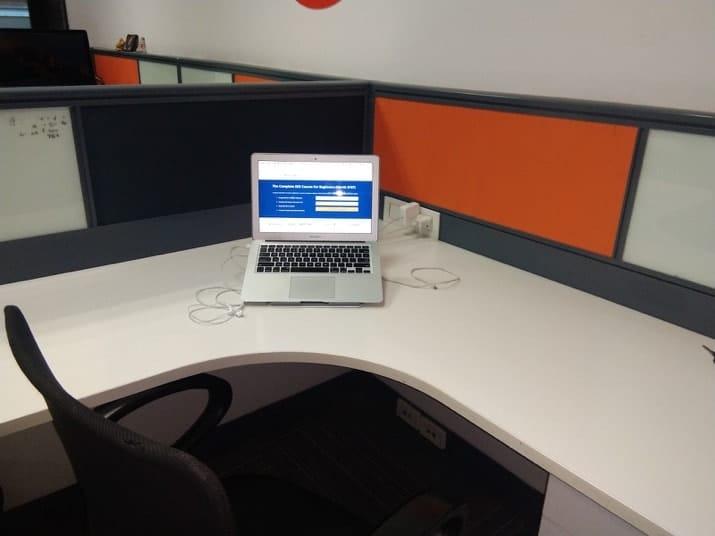 Anil agarwals work space