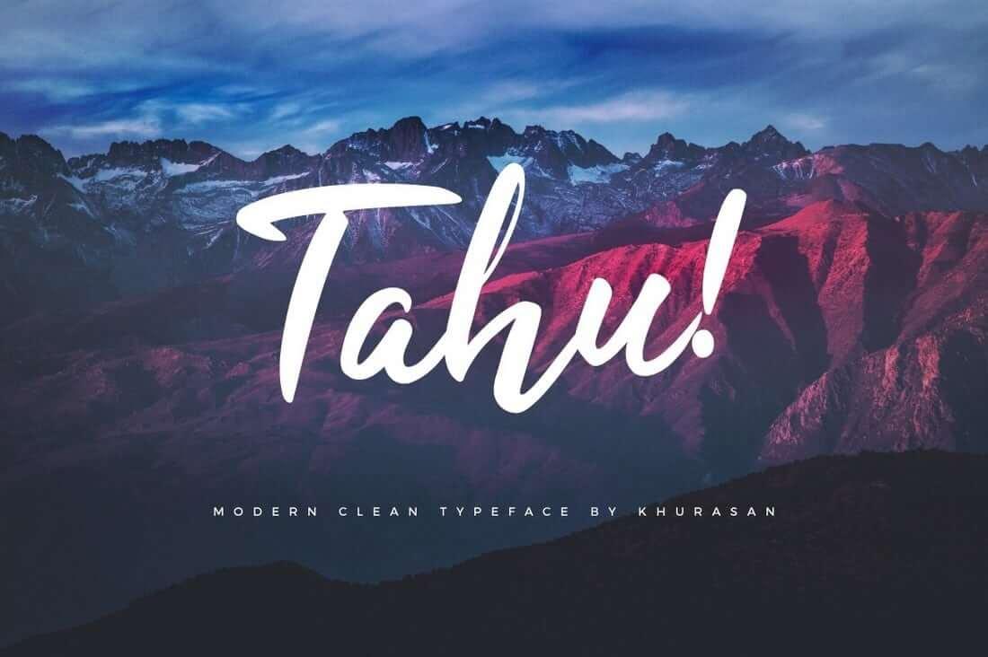 Tahy Free Script Font