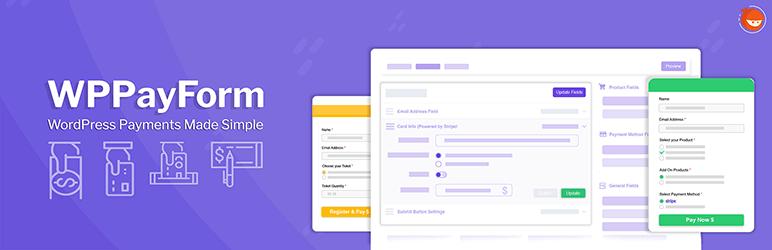 WPPay Form payment gateway plugin