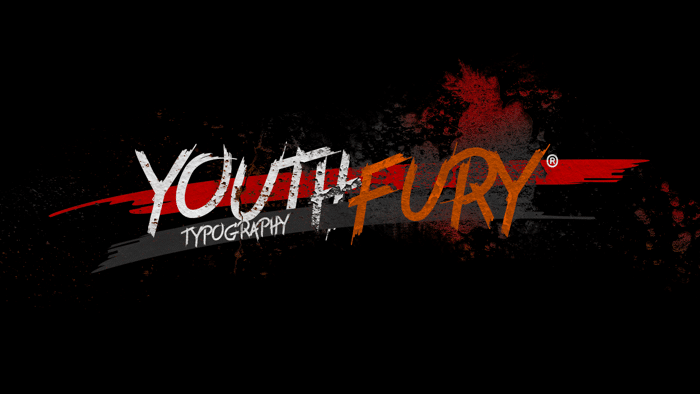 Youth Fury Font